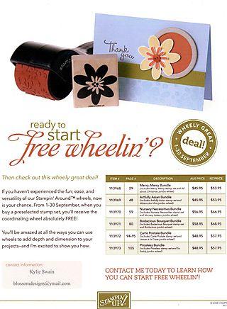 Free Wheelin Promo Sept 08