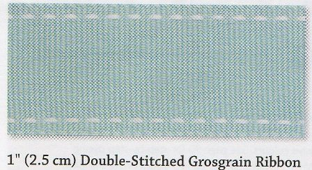 2.5cm Double Stitched Ribbon Share
